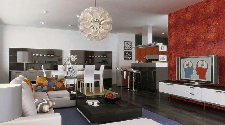 40 l mparas de sal n modernas para decorar con estilo estreno casa - Lamparas para salones modernos ...