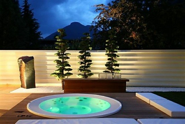 Modelos De Jacuzzi Campestres.Jacuzzi Exterior 60 Disenos Perfectos Estreno Casa