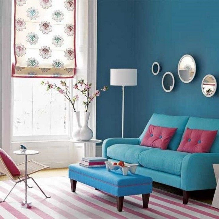 Los colores para paredes de sal n de moda este 2017 for Moda en pintura de paredes