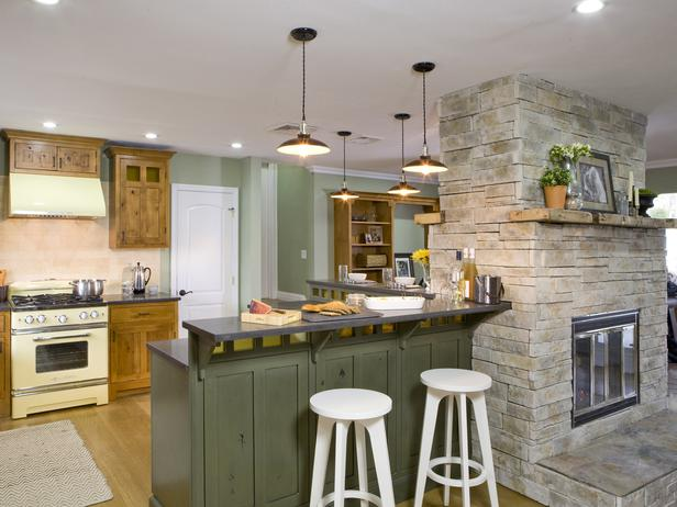 M s de 40 cocinas r sticas que debes ver estreno casa for Cocinas rusticas con chimenea