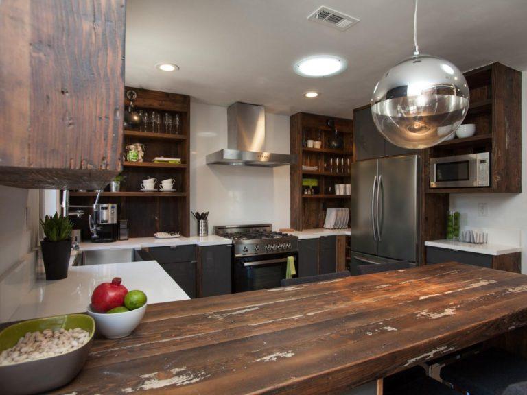 M s de 40 cocinas r sticas que debes ver estreno casa for Piso rustico moderno