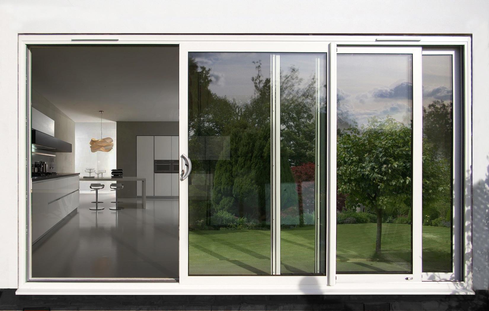 Puertas Correderas Para Exterior Beautiful Puertas Correderas  ~ Puerta Corredera Cristal Exterior
