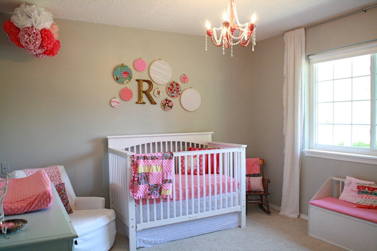 Galer A Para Decoraci N Habitaci N De Beb M S De 40 Ideas  ~ Habitacion Bebe Niña Gris Y Rosa