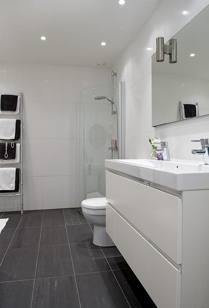30 fotos de cuartos de ba o modernos que te sorprender n On cuartos de bano modernos blancos