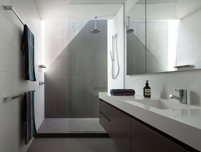 30 fotos de cuartos de ba o modernos que te sorprender n for Banos modernos para departamentos