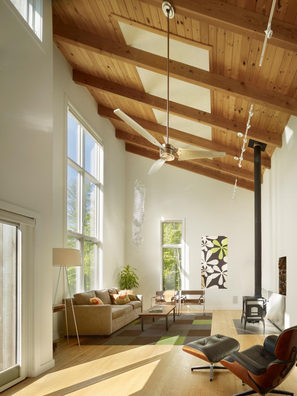 30 techos de madera de interior no te lo pierdas for Techos para apartamentos