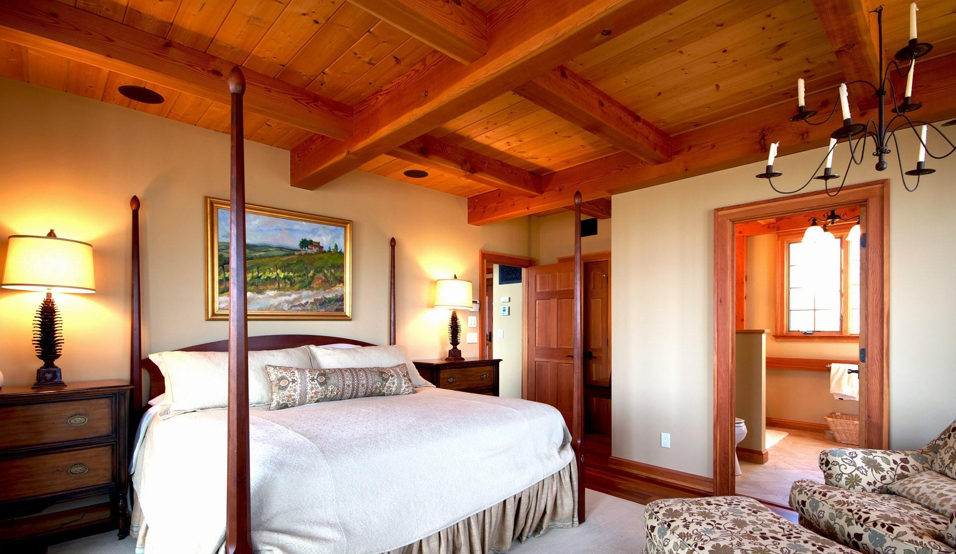 30 techos de madera de interior no te lo pierdas for Colores para techos de casas