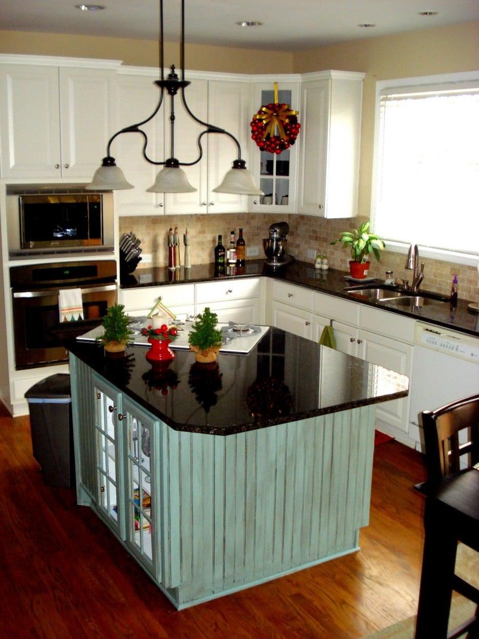 30 maravillosas cocinas en l que andabas buscando for Cocinas pequenas con isla