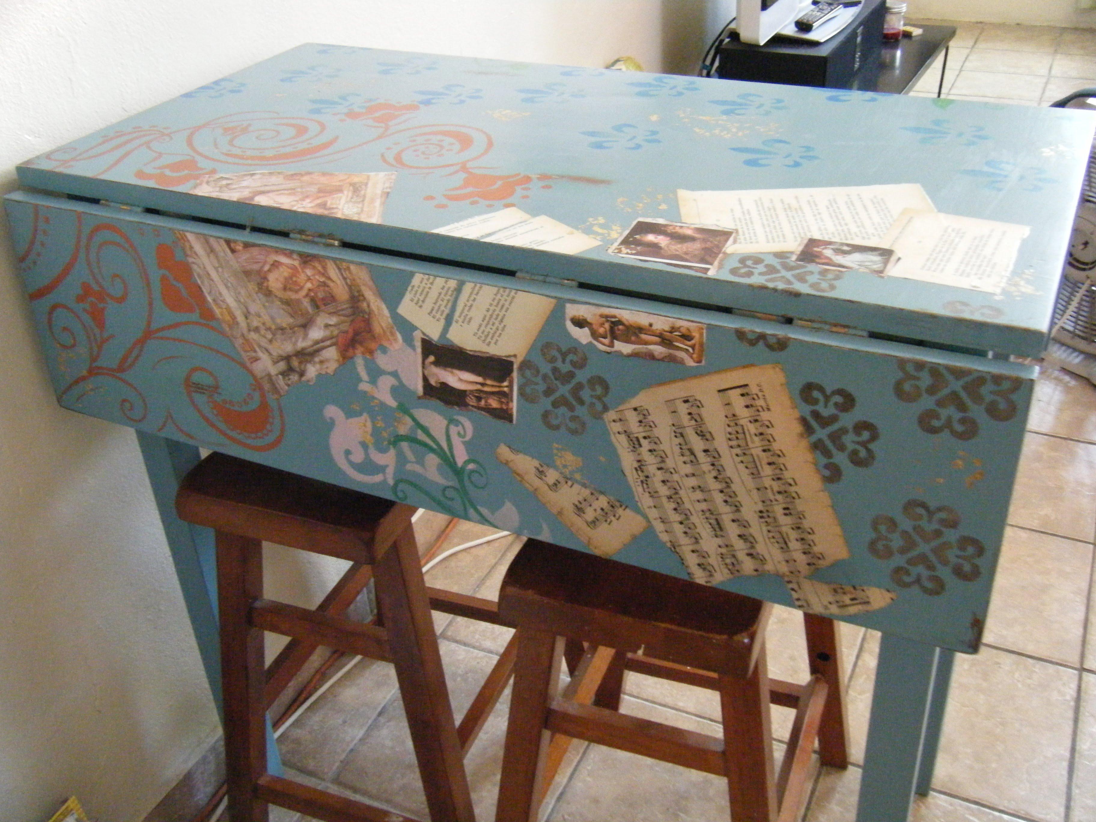 Los mejores ideas de muebles vintage no dejes de verlos - Mesa cocina vintage ...
