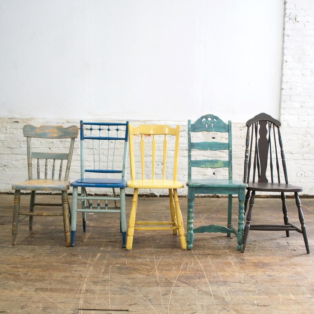 Mesas y sillas vintage dise os arquitect nicos - Sillas vintage baratas ...