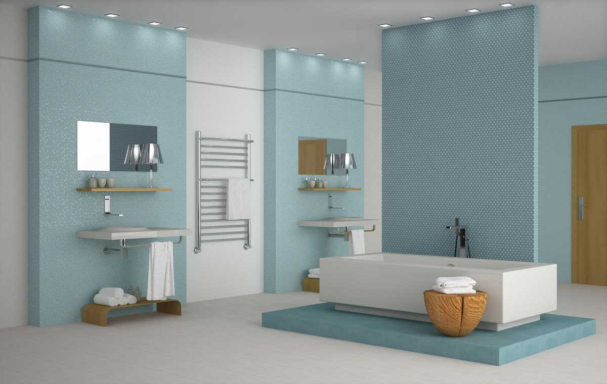 29 cuartos de ba os de lujo modernos para inspirar el tuyo for Colores de granito para banos