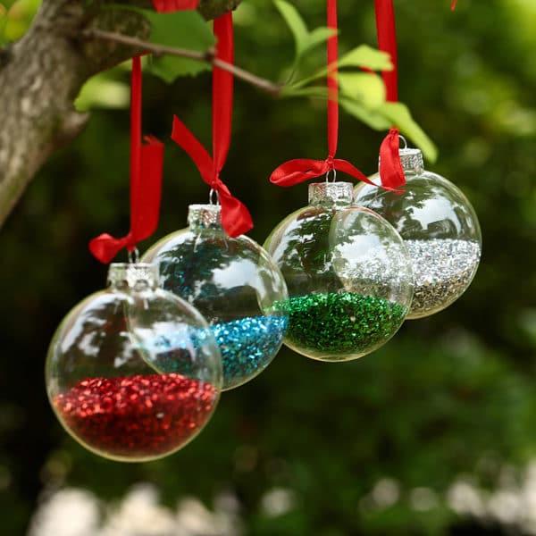 5e9f9aeebba 29 Fotos de Bolas de Navidad Transparentes - Estreno Casa