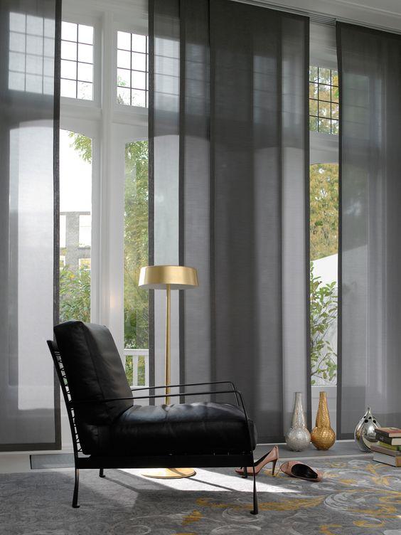 cortinas en paneles