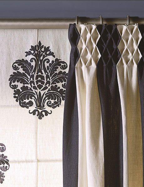 29 cortinas para salon de todas formas y colores estreno - Cortinas para salon ikea ...