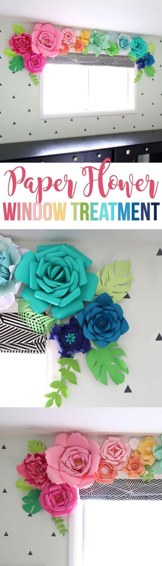 Cómo Hacer Flores de Papel: Ejemplos y Fotos - Estreno Casa
