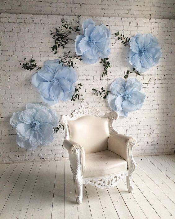 Como Hacer Flores De Papel Ejemplos Y Fotos Estreno Casa