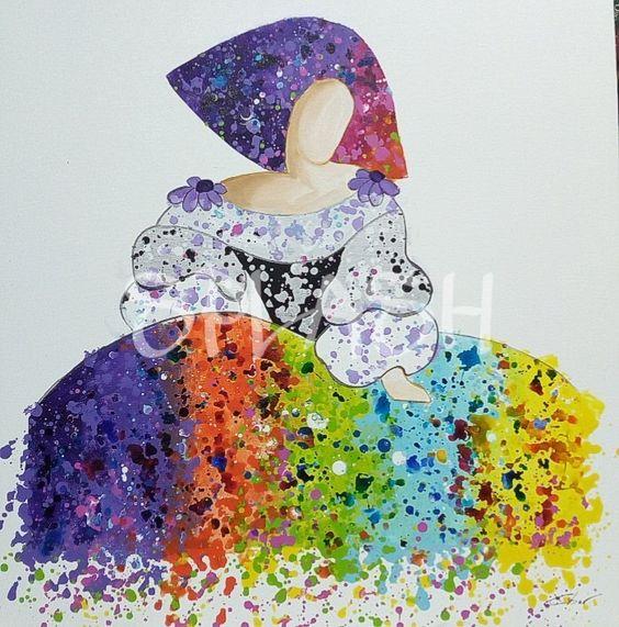 19 cuadros modernos para sal n que te encantar n estreno - Cuadros de meninas modernos ...