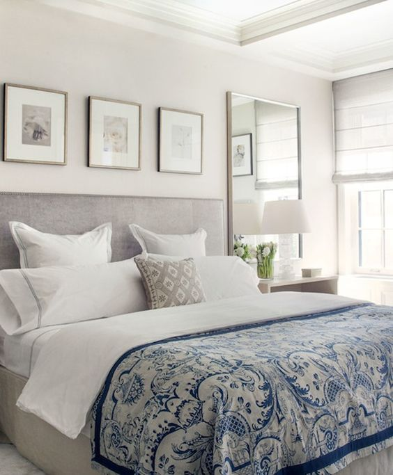 39 fascinantes cuadros para dormitorios modernos estreno casa - Cuadros cabecero cama ...