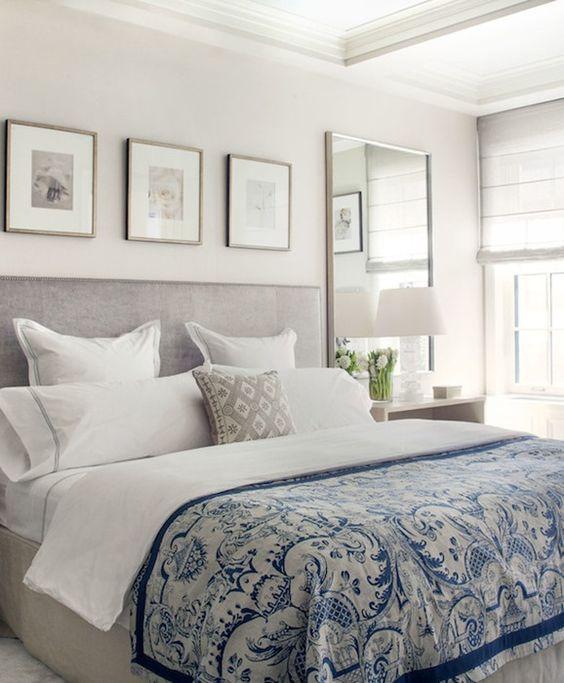 39 fascinantes cuadros para dormitorios modernos estreno casa - Cuadros para cabeceros de cama ...
