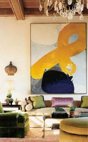 19 cuadros modernos para sal n que te encantar n estreno for Cuadros grandes dimensiones