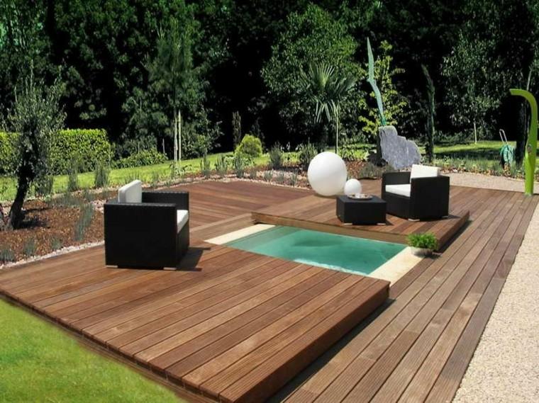31 Ideas de Piscinas Pequeñas Para Terrazas y Jardines - Estreno Casa