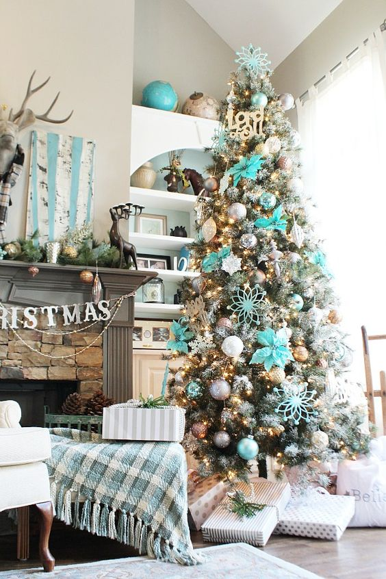 Los Mas Lindos Arboles De Navidad Para Tu Hogar Estreno Casa - Arboles-de-navidad-decorados