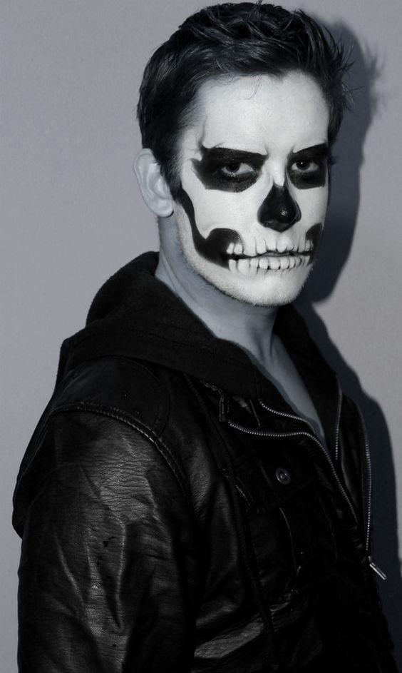 Ideas de Maquillaje de Halloween Para Hombre , Estreno Casa