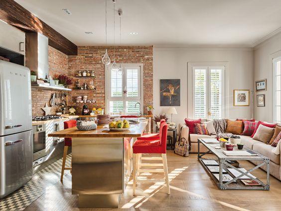 29 Imperdibles Ideas De Cocinas Abiertas Al Salon Estreno Casa