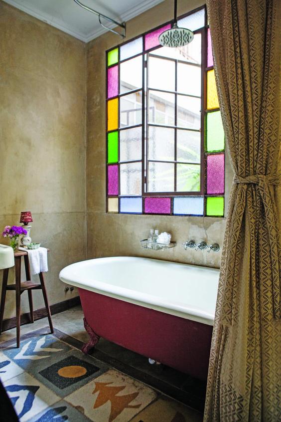 21 cuartos de ba o rusticos que no puedes dejar de ver Azulejos rusticos para interiores