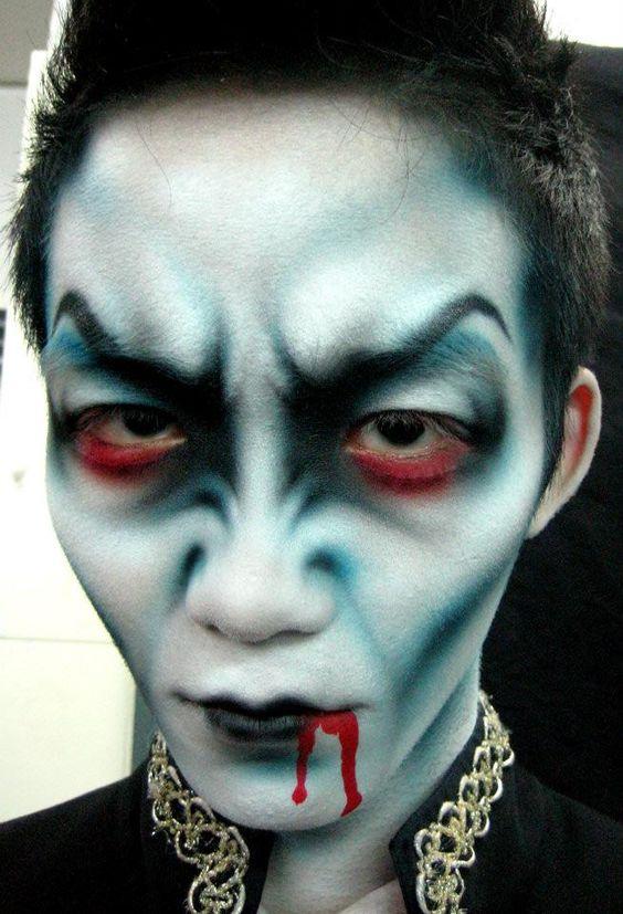 Ideas de Maquillaje de Halloween Para Hombre Estreno Casa
