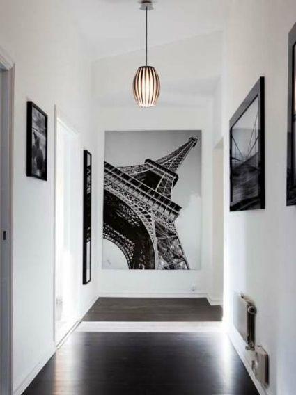 Decoracion De Pasillos Modernos 21 Ideas Para Crear El Tuyo - Como-decorar-un-pasillo-pequeo