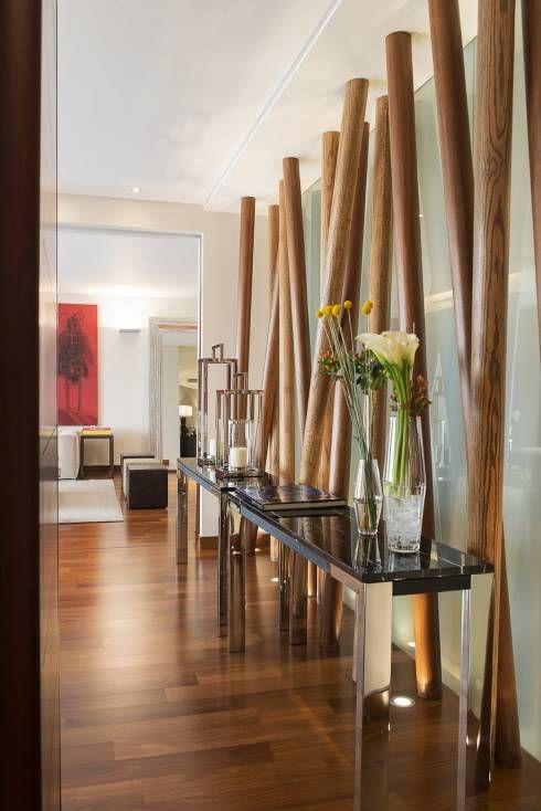 Decoraci n de pasillos modernos 21 ideas para crear el tuyo estreno casa - Cortinas para pasillos ...