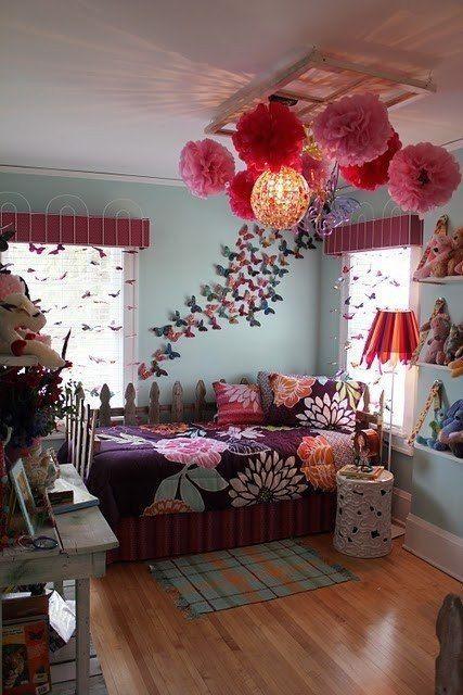29 Ideas De Decoracion De Habitacion Juvenil Para Tus Hijos - Manualidades-habitacion