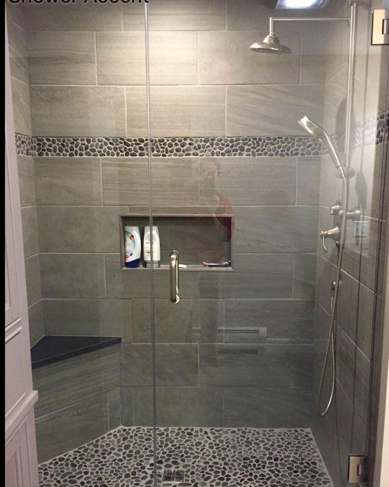 21 duchas modernas para deslumbrar en tu ba o estreno casa for Implementos de bano
