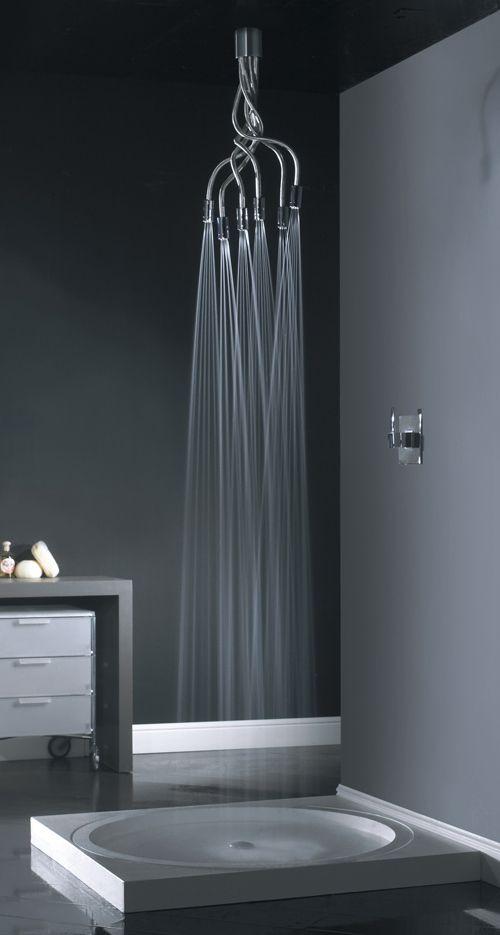 21 duchas modernas para deslumbrar en tu ba o estreno casa for Duchas modernas