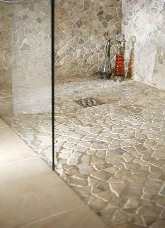 21 duchas modernas para deslumbrar en tu ba o estreno casa - Azulejos para duchas de obra ...