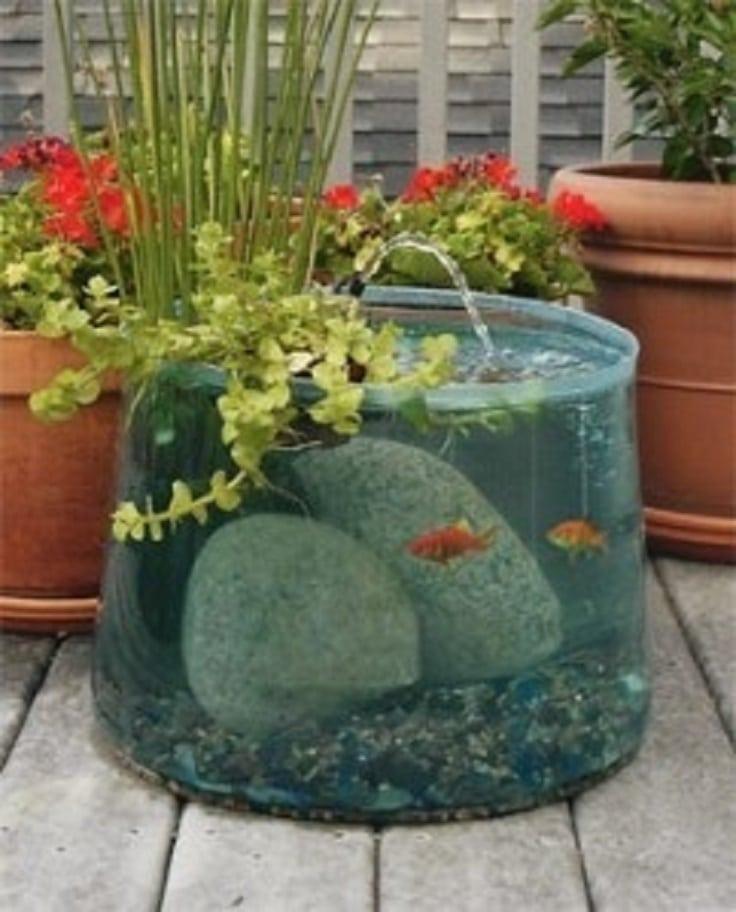 Fuentes de jard n para decorar tu espacio estreno casa - Fuentes minimalistas para jardin ...