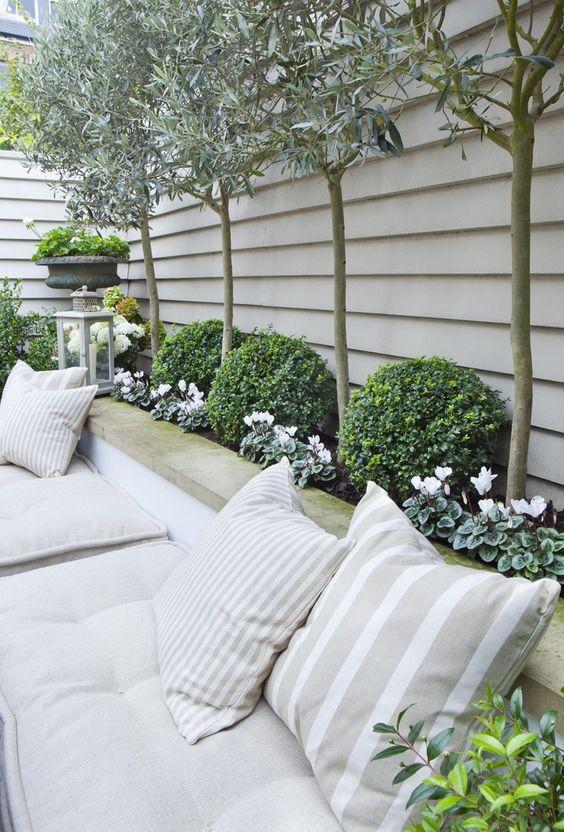 Para Soñar: 31 Ideas de Decoración de Jardines Pequeños - Estreno Casa