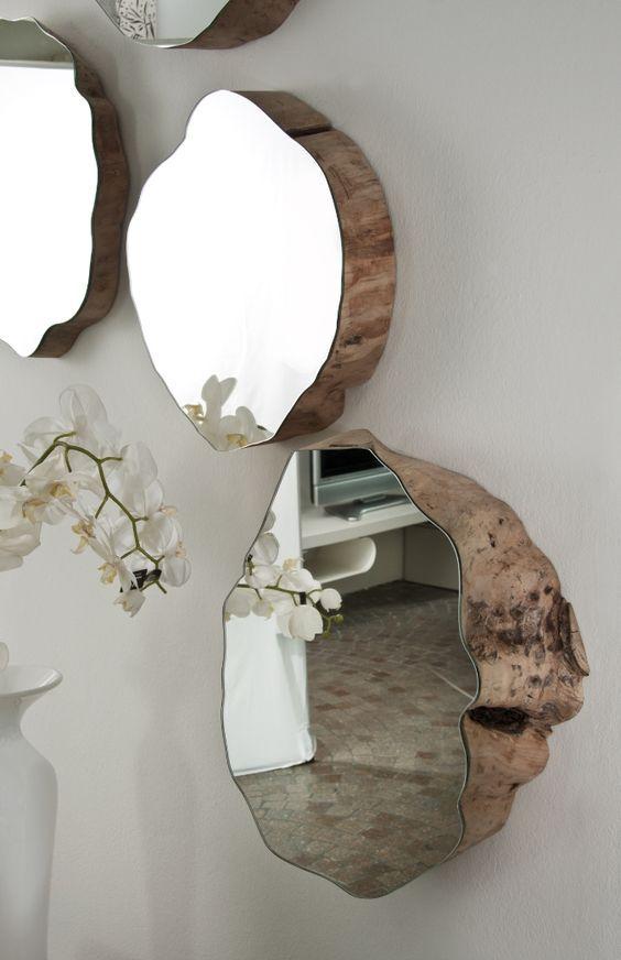 Como decorar con espejos de manera f cil tus espacios for Espejos de pared de madera