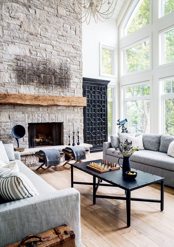 20 Tipos De Chimeneas Que Amaras En Tu Casa Estreno Casa - Tipos-de-chimeneas-rusticas