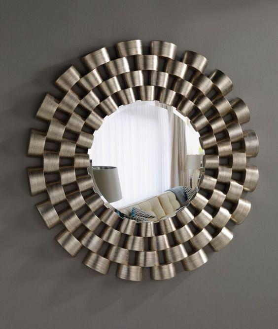 Como decorar con espejos de manera f cil tus espacios for Espejo con marco de espejo