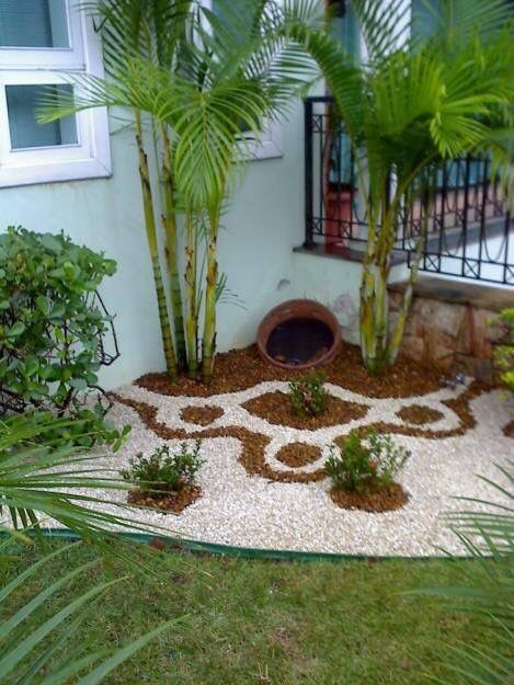Para so ar 31 ideas de decoraci n de jardines peque os for Jardines exteriores pequenos