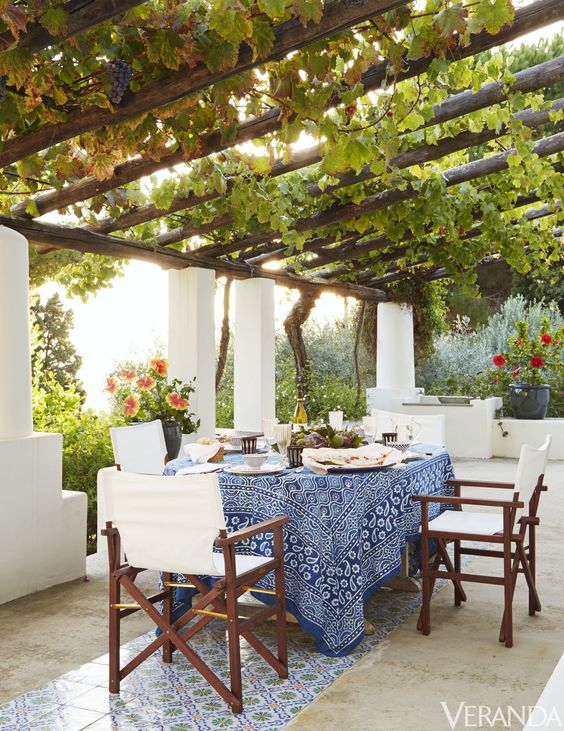 Algunas de las m s lindas terrazas con encanto estreno casa - Enredaderas de interior ...