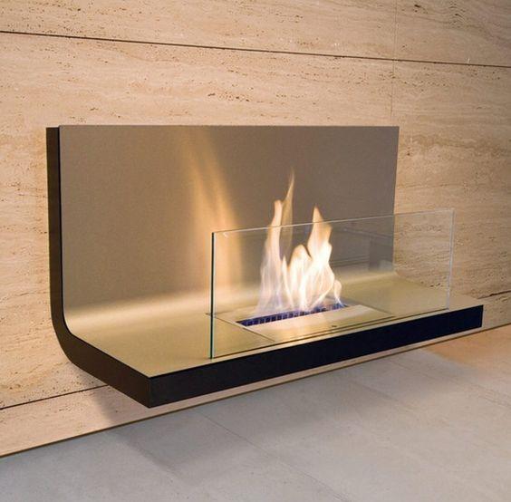 20 tipos de chimeneas que amar s en tu casa estreno casa - Chimeneas con cristal ...