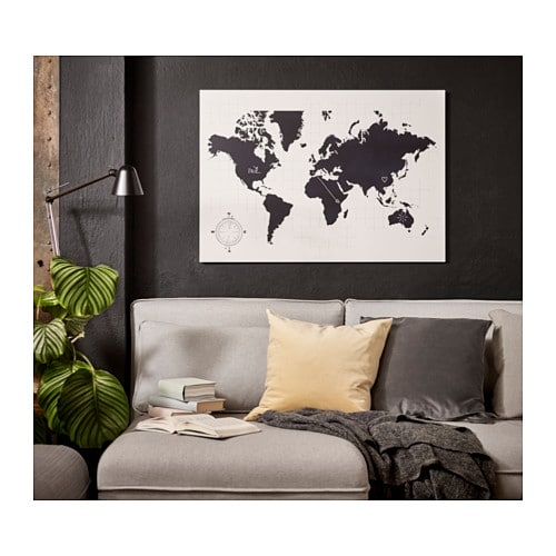 conoces los vinilos decorativos ikea no te los pierdas. Black Bedroom Furniture Sets. Home Design Ideas