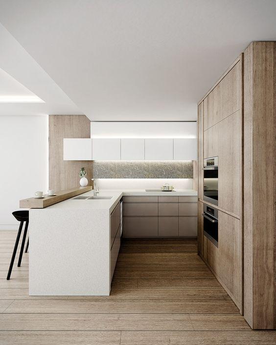 Ejemplos fascinantes de cocinas en u estreno casa for Cocinas en u