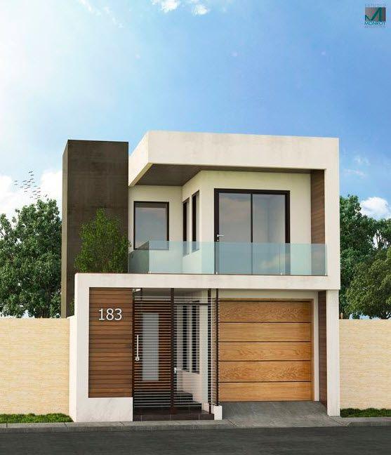 Hermosas fachadas de casas modernas 40 fotos estreno casa for Fachadas de viviendas sencillas