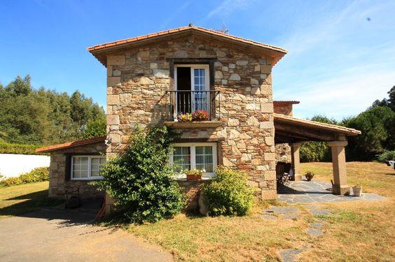 Fachadas de casas r sticas dise os que te encantar n - Piedra caliza para fachadas ...