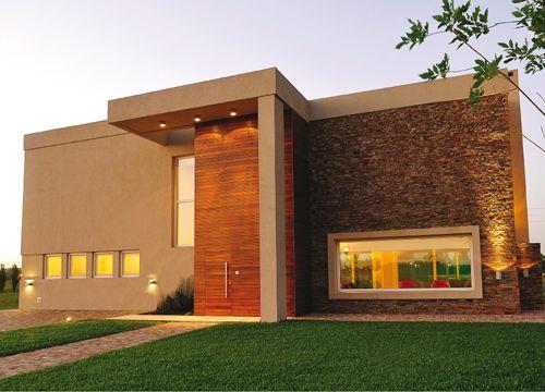 Fachadas de casas modernas interiorescasasdiseo arquitectura - Casas arquitectura moderna ...
