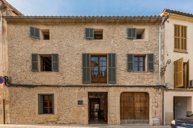 02 fachada de casa rustica en piedra - Fachadas Rusticas